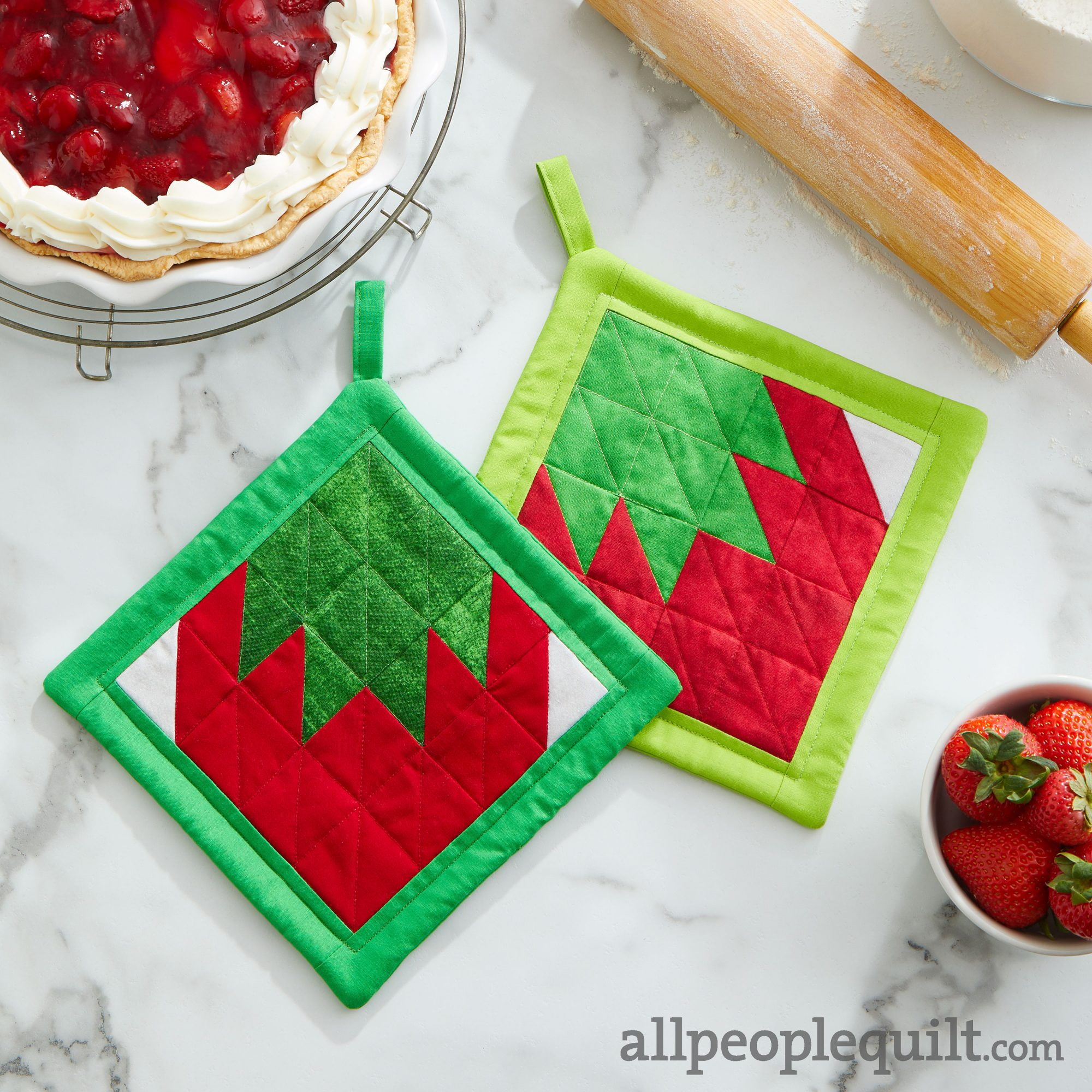 Berry Good Pot Holder