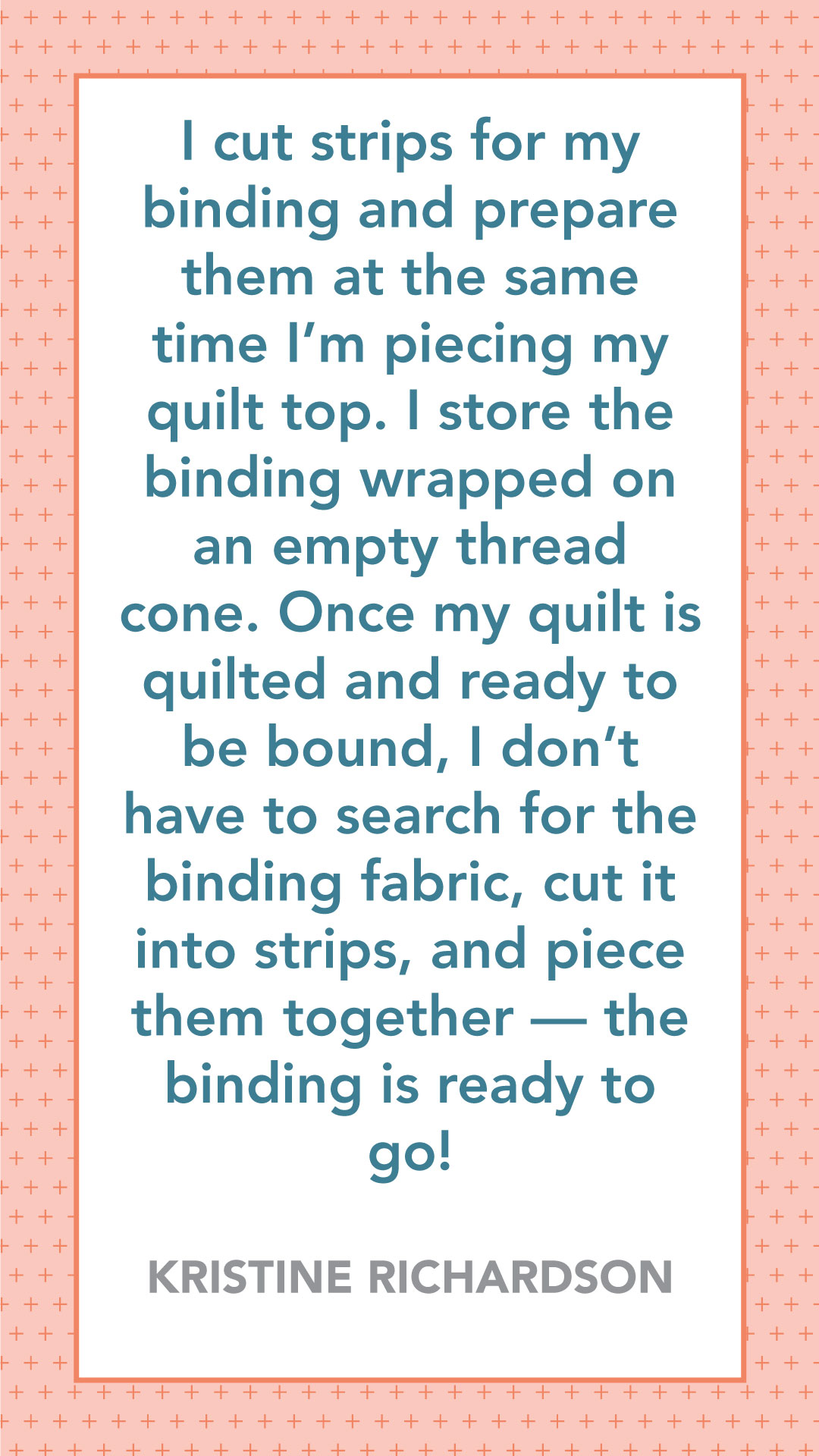 Prepare Binding Early