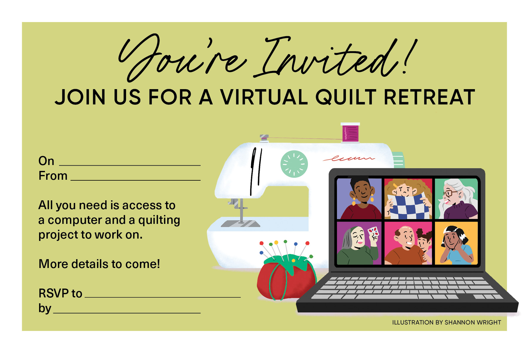 Virtual Quilt Retreat