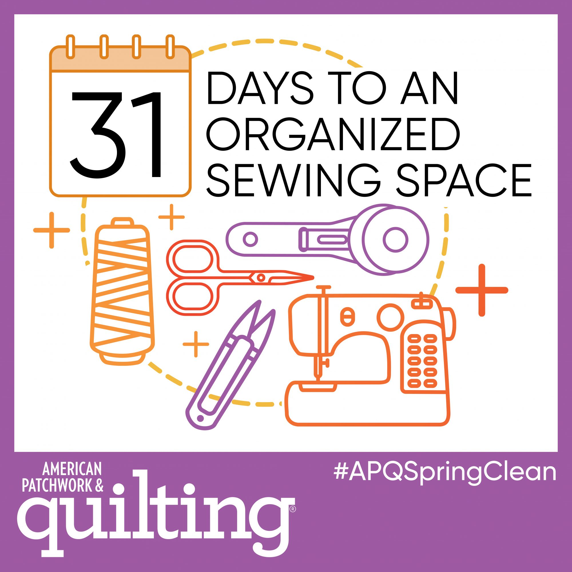 31 Days to an Organizing Sewing Space