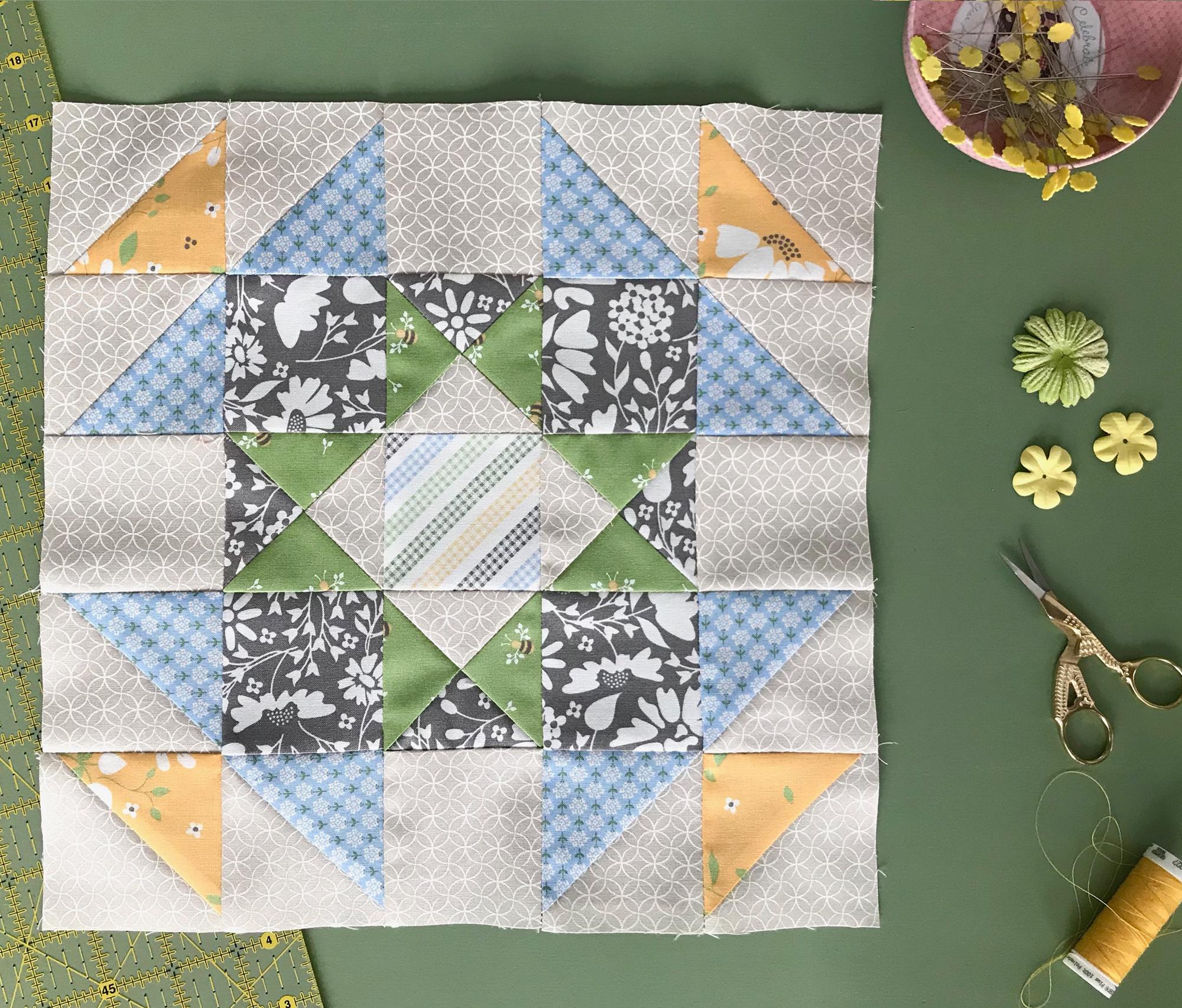 Block 1 Moda Fabrics