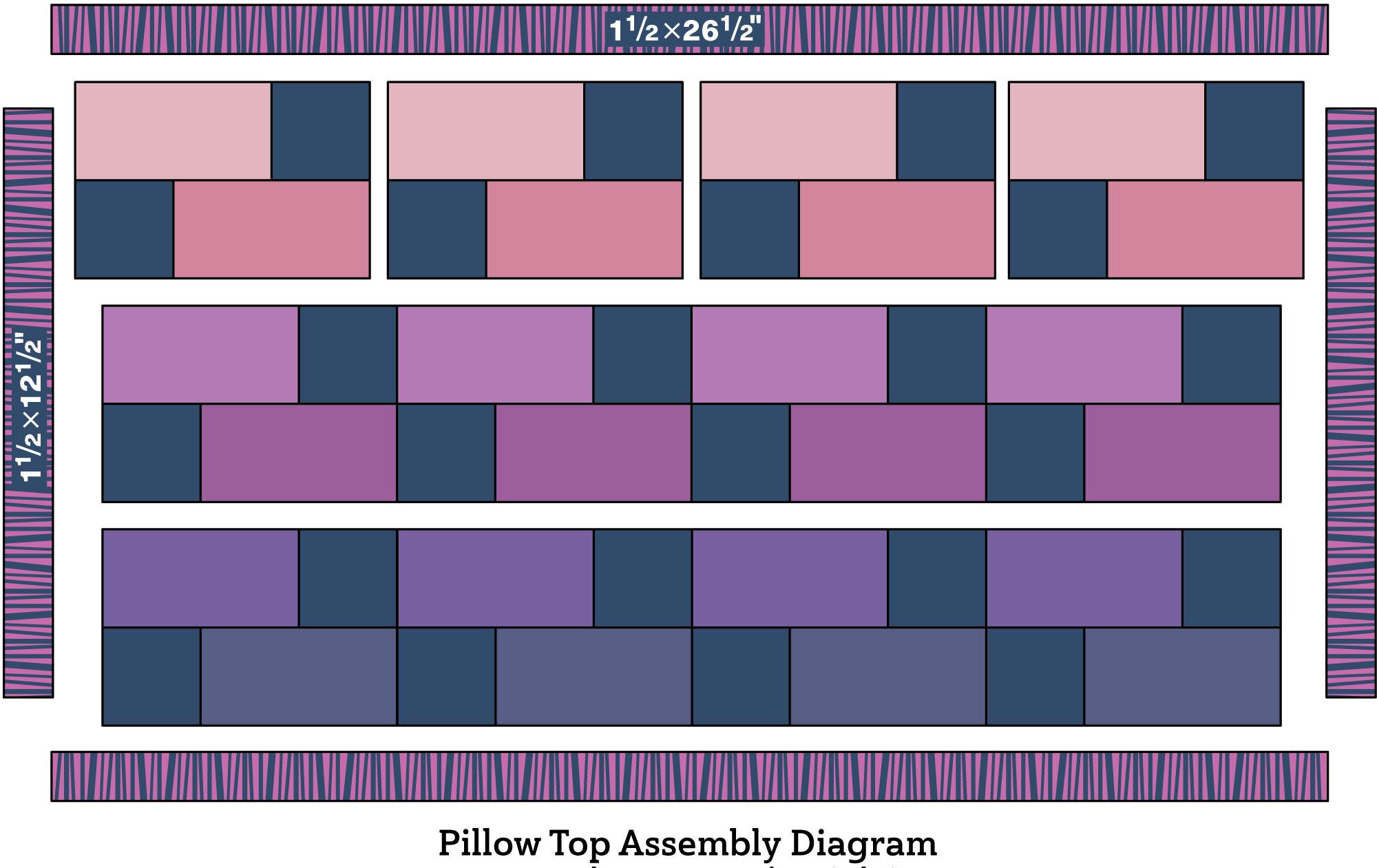 Gradations Pillow Cover