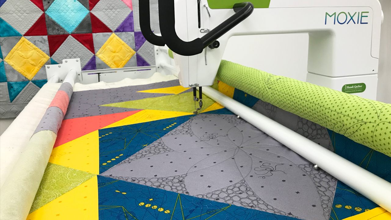 Quilting with Moxie: Filling Large Spaces
