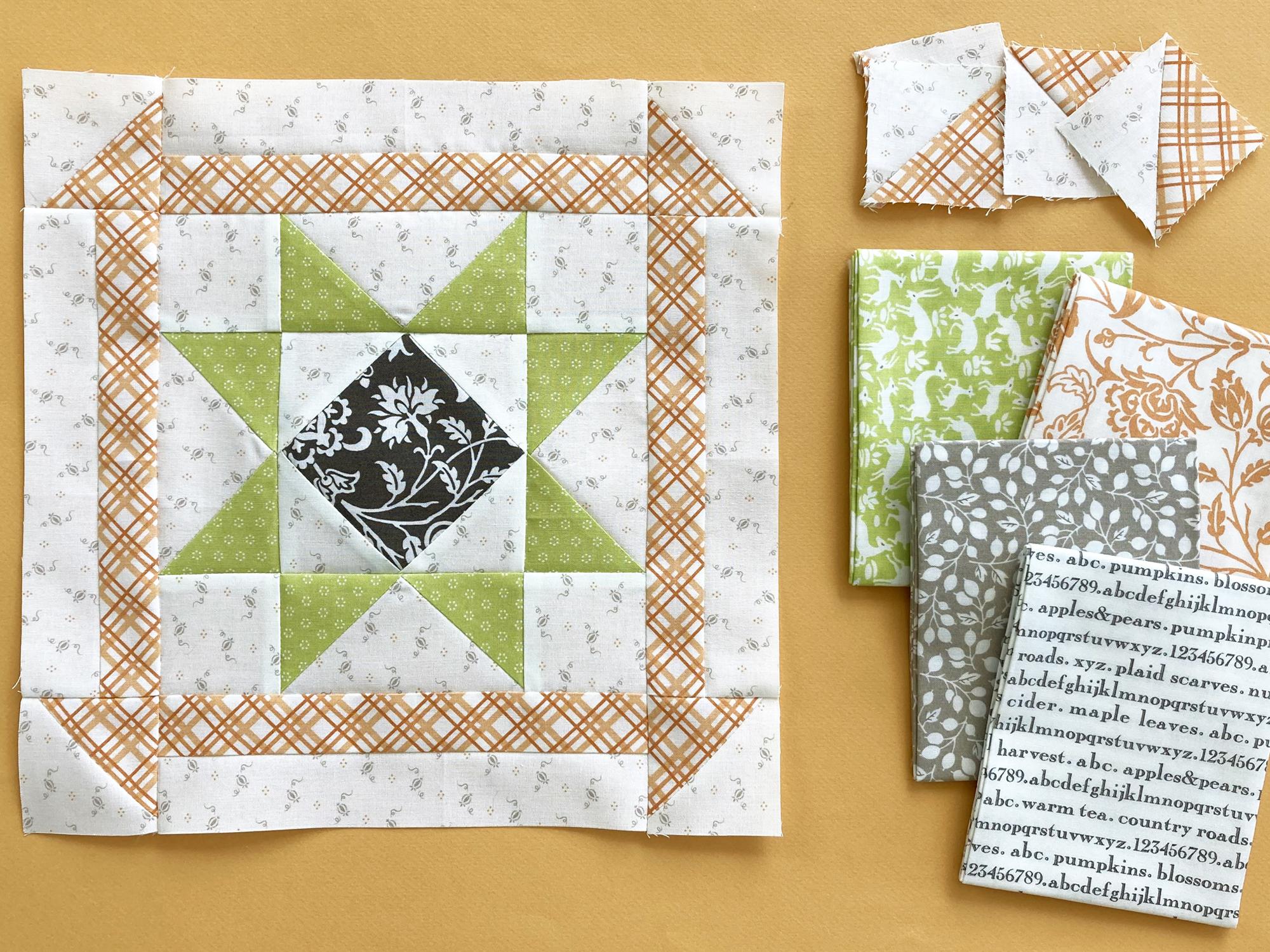 Block 4 with Moda Fabrics