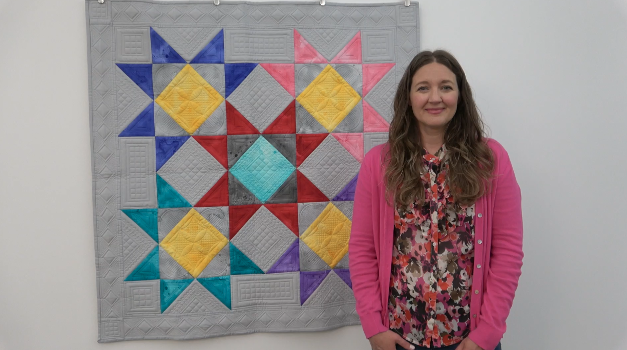 How to Hang Quilts Without a Hanging Sleeve