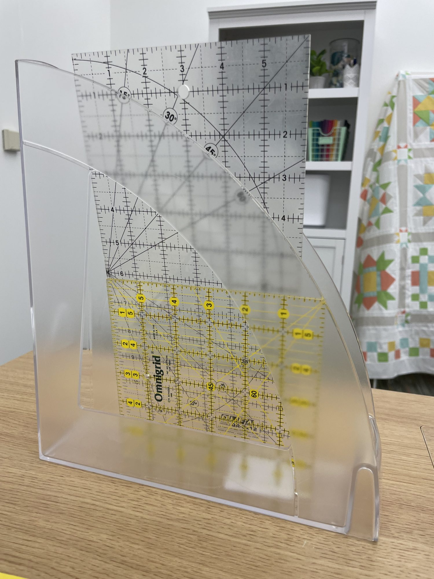 Simple Ways to Store Rulers and Templates