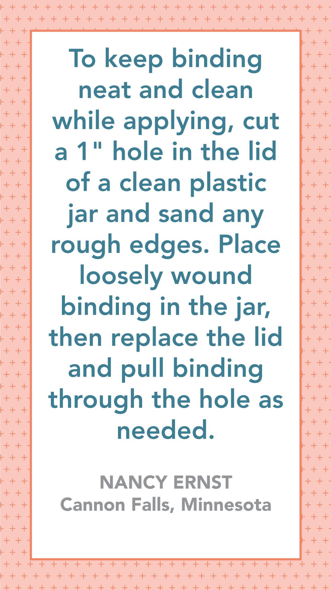 Binding Tip