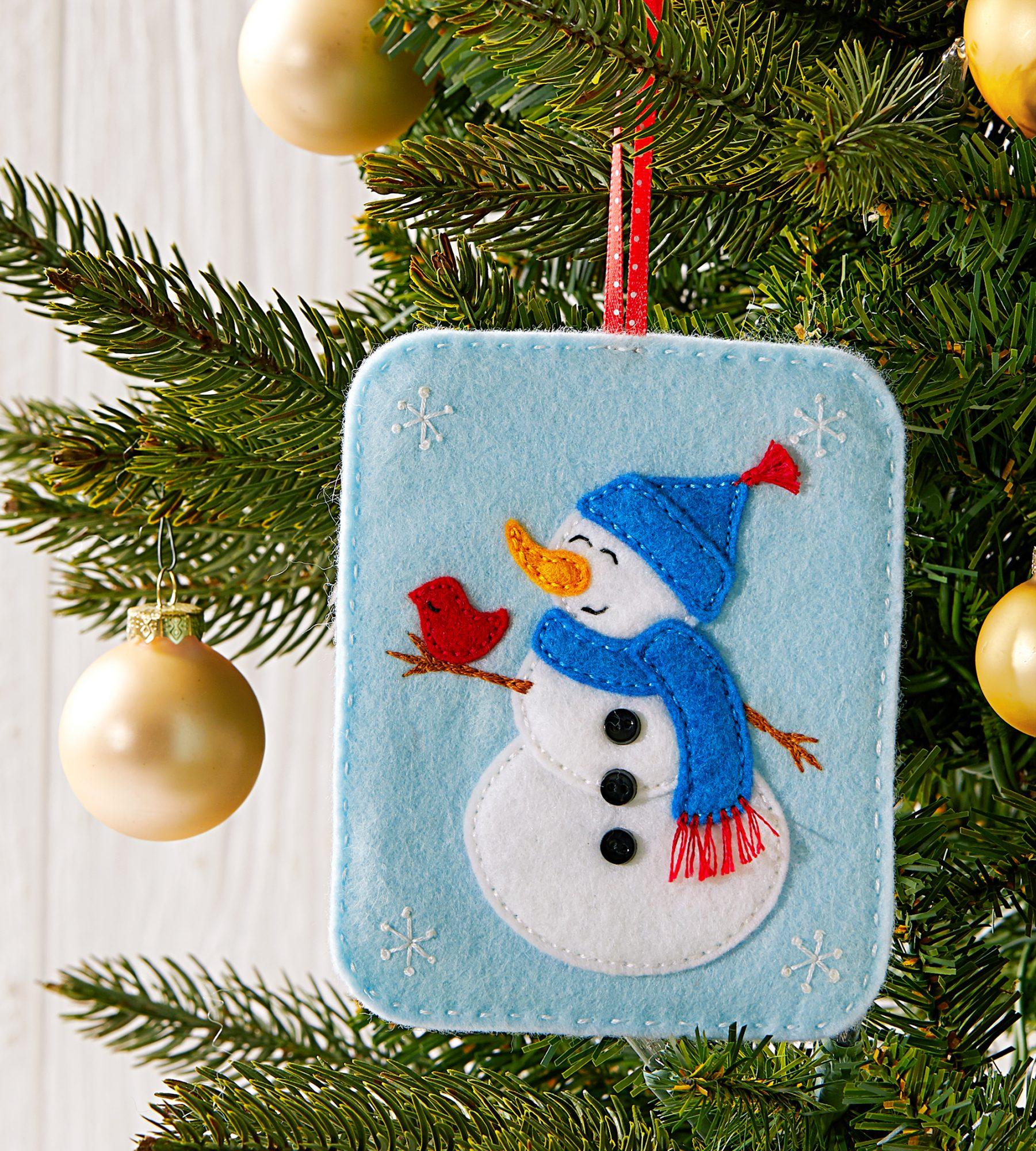 Sweet Snowman Ornament