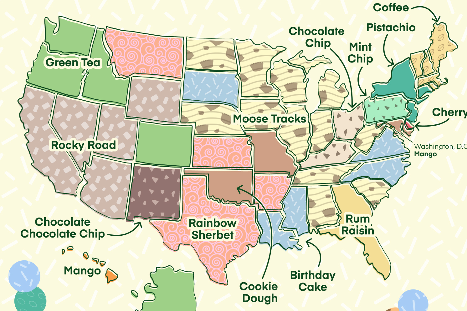 These Are the Most Popular Ice Cream Flavors in Each State