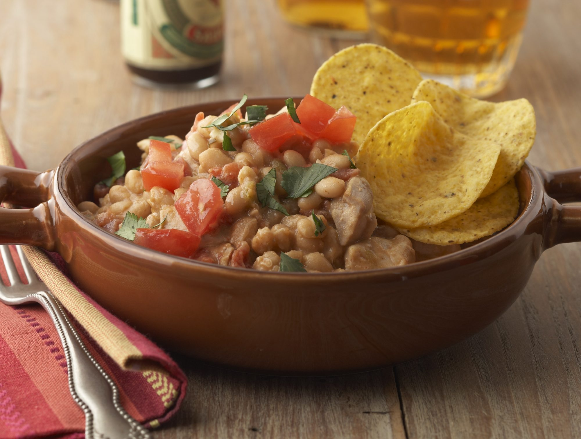 Slow Cooker Taco Chicken Soup