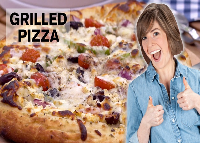 Grilling Pizza with Julia