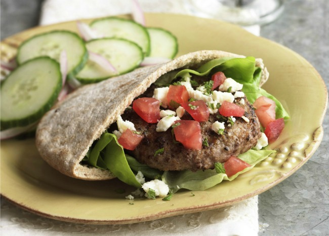 Grilled Spicy Lamb Burger