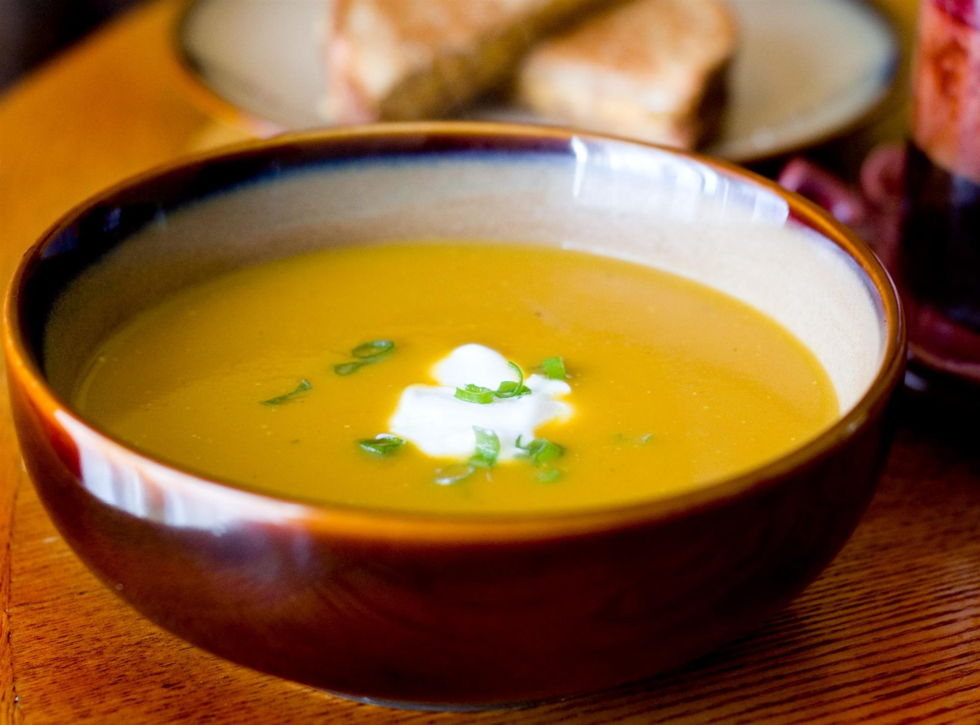 Butternut and Apple Harvest Soup