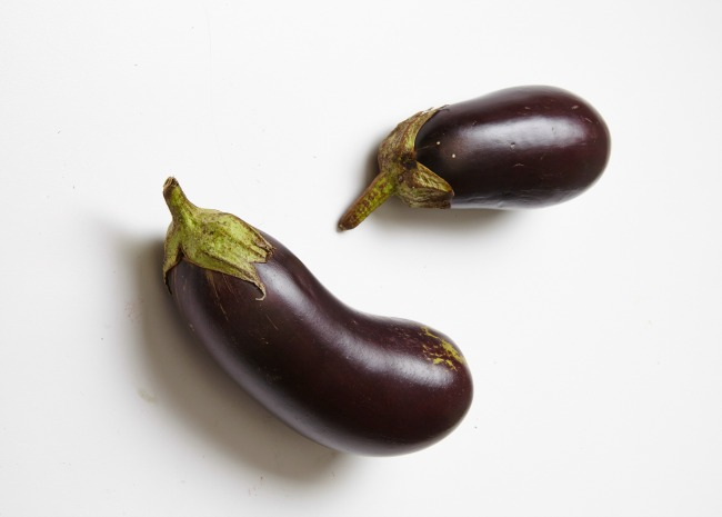 Eggplant. Photo by Meredith