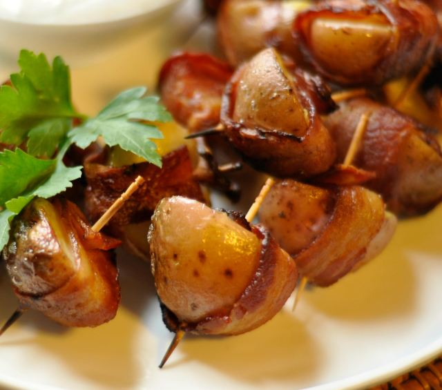 1018430 Bacon Wrapped New Potatoes 218223 Cookin Up A Storm