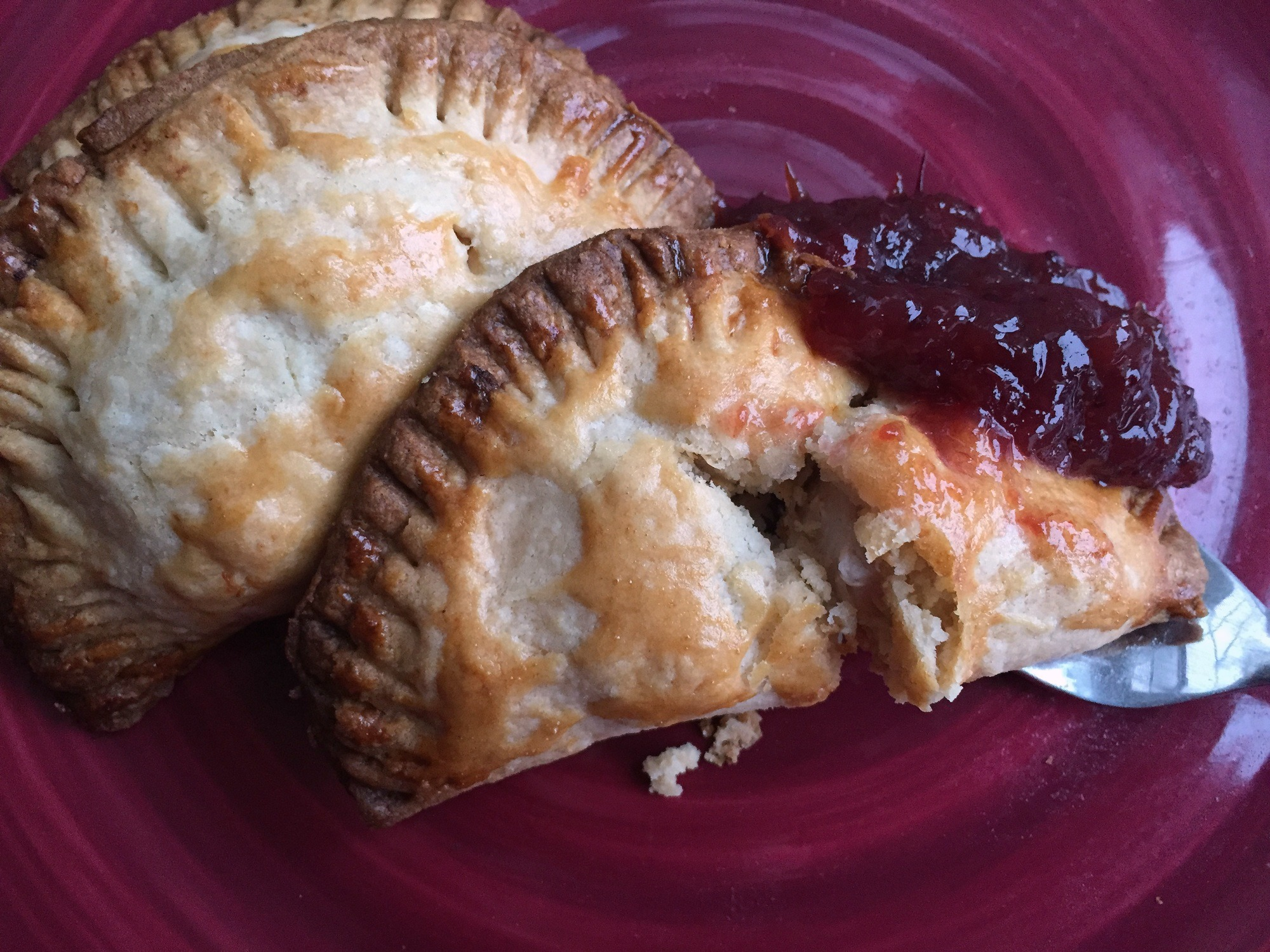Thanksgiving Leftovers hand pie