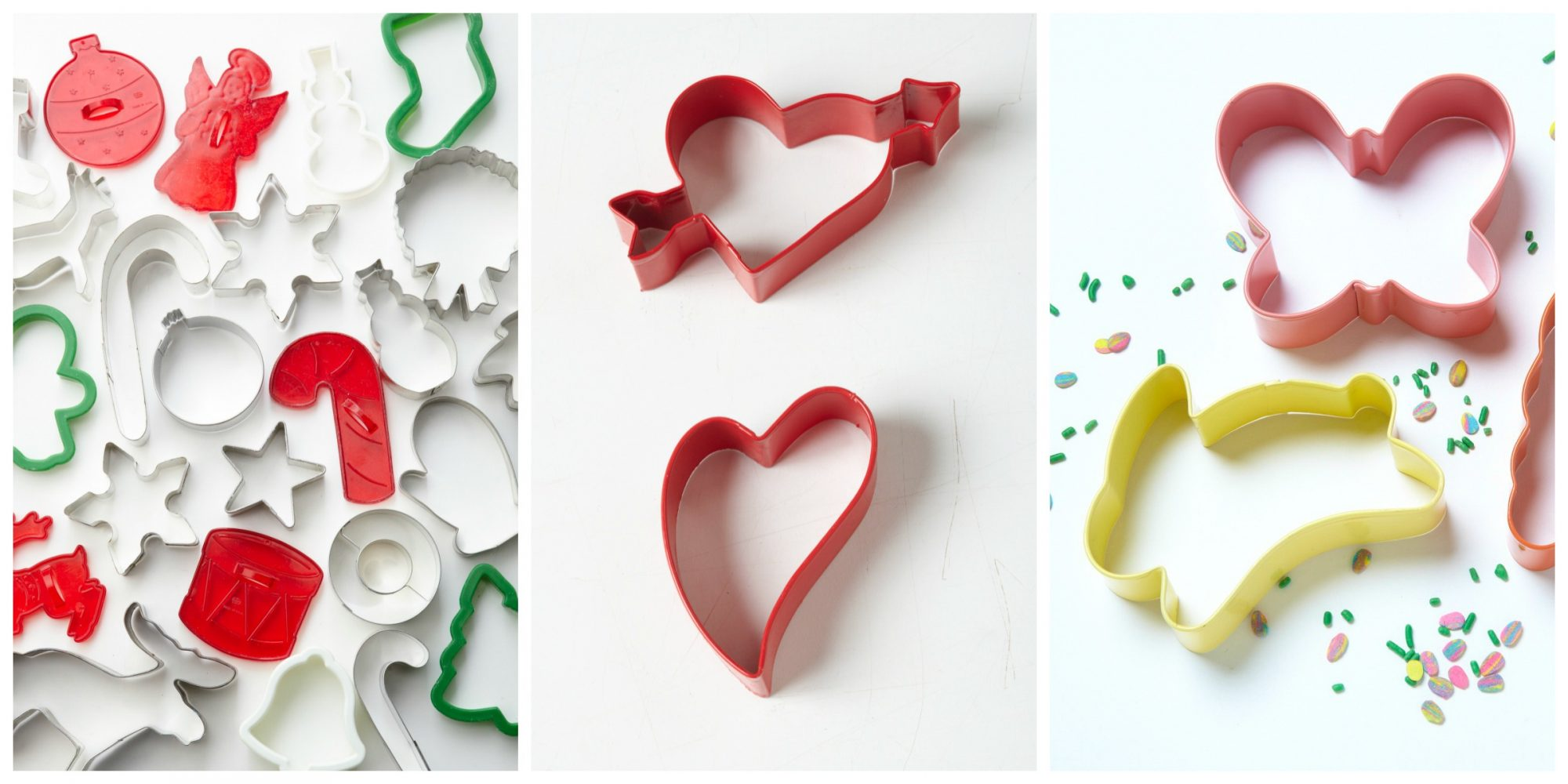 Christmas, Valentine's Day, Easter Cookie Cutters
