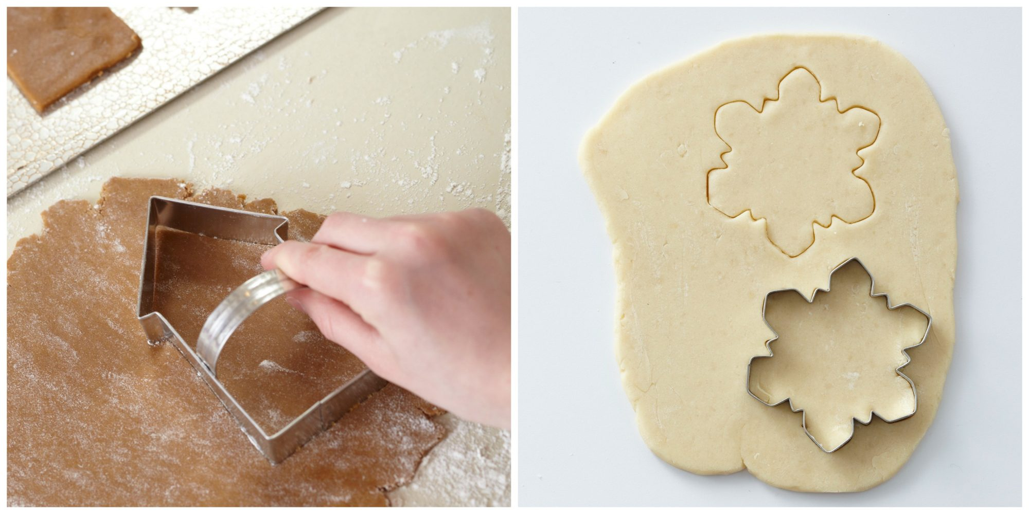 Cookie Cutters with and without Handles