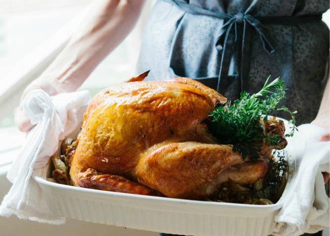 Carrying the Turkey to the Table