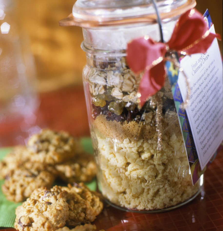 Oatmeal Cookie in Jar