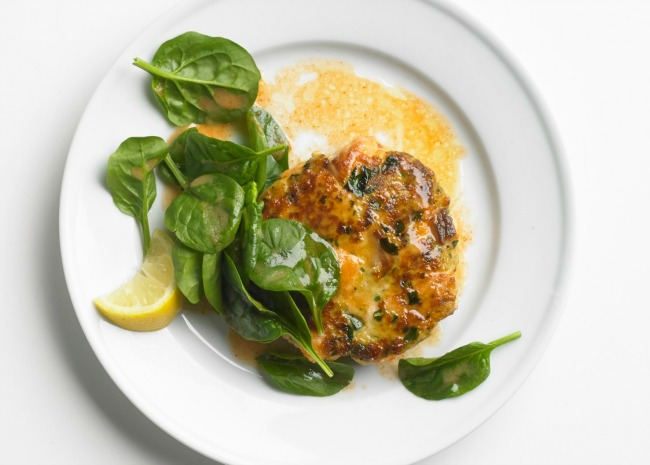 Moroccan Salmon Cakes with Garlic Mayonnaise