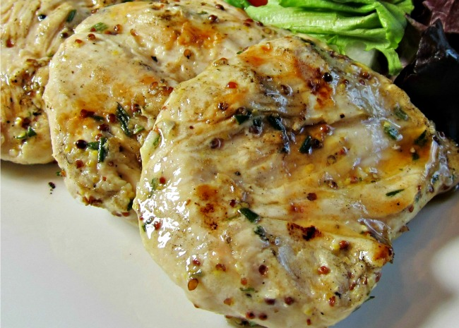 Grilled Rosemary Chicken Breast