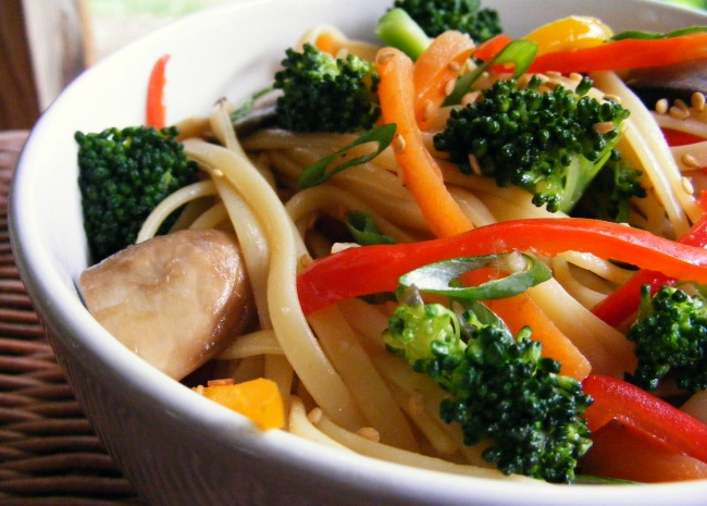 Soba Noodles with Toasted Sesame Seed Sauce