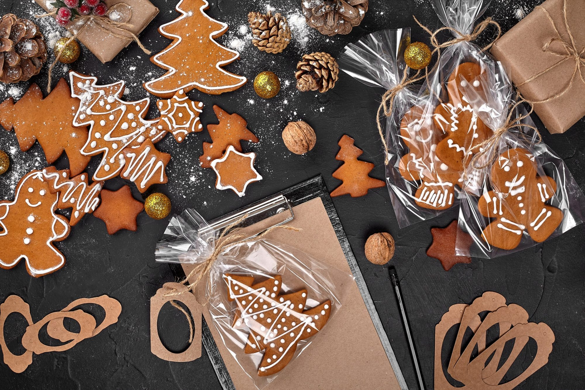 Gingerbread Cookie Food Gifts