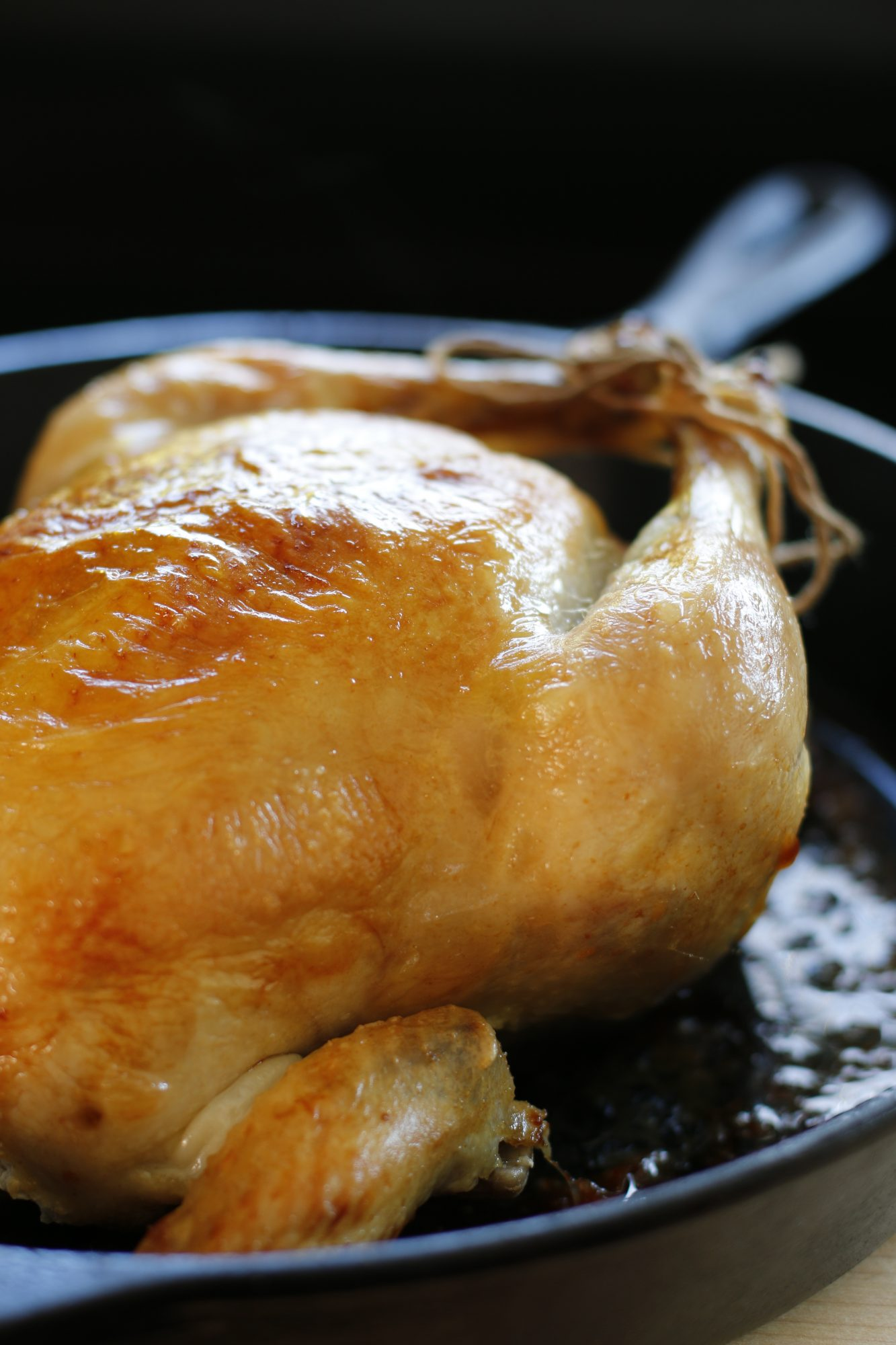 The 2-Ingredient Roast Chicken To Keep In Your Mental Cookbook
