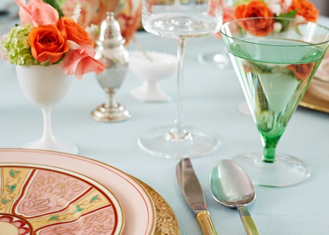 table setting by David A. Land