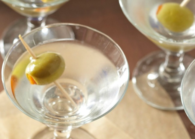 Classic Martini with Olive