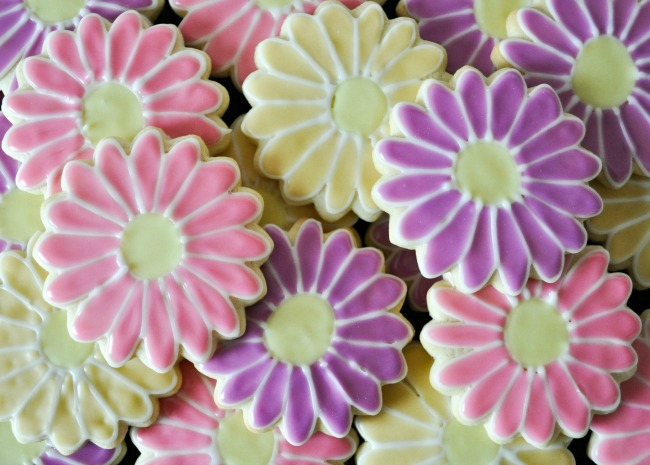 Sugar Cookie Icing_Flowers