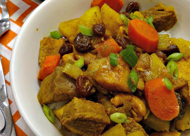 Curried Beef with Winter Vegetables