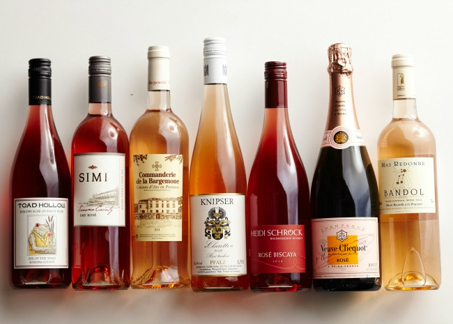 election of Rose Wine