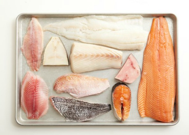 Seafood for the grill