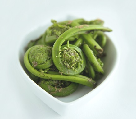 8 Ways to Enjoy Fiddleheads