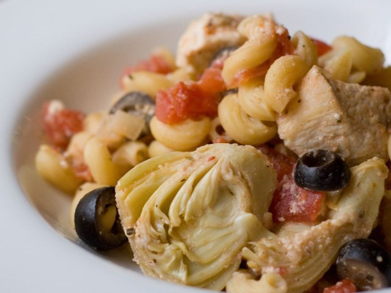 New Ideas For Chicken + Pasta - Greek Chicken Pasta