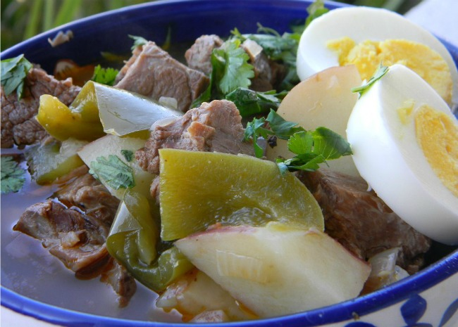 Ajiaco Beef and Pepper Stew
