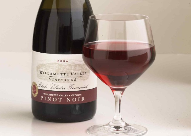 Pinot Noir from Willamette Valley