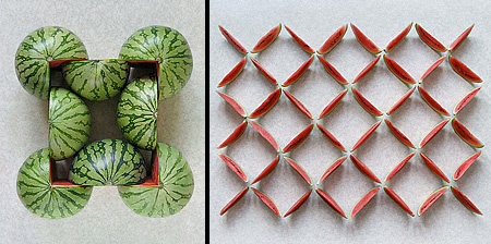 Watermelon-Art-Assemblage-by-Sakir-Gokcebag-via-Toxel.jpg