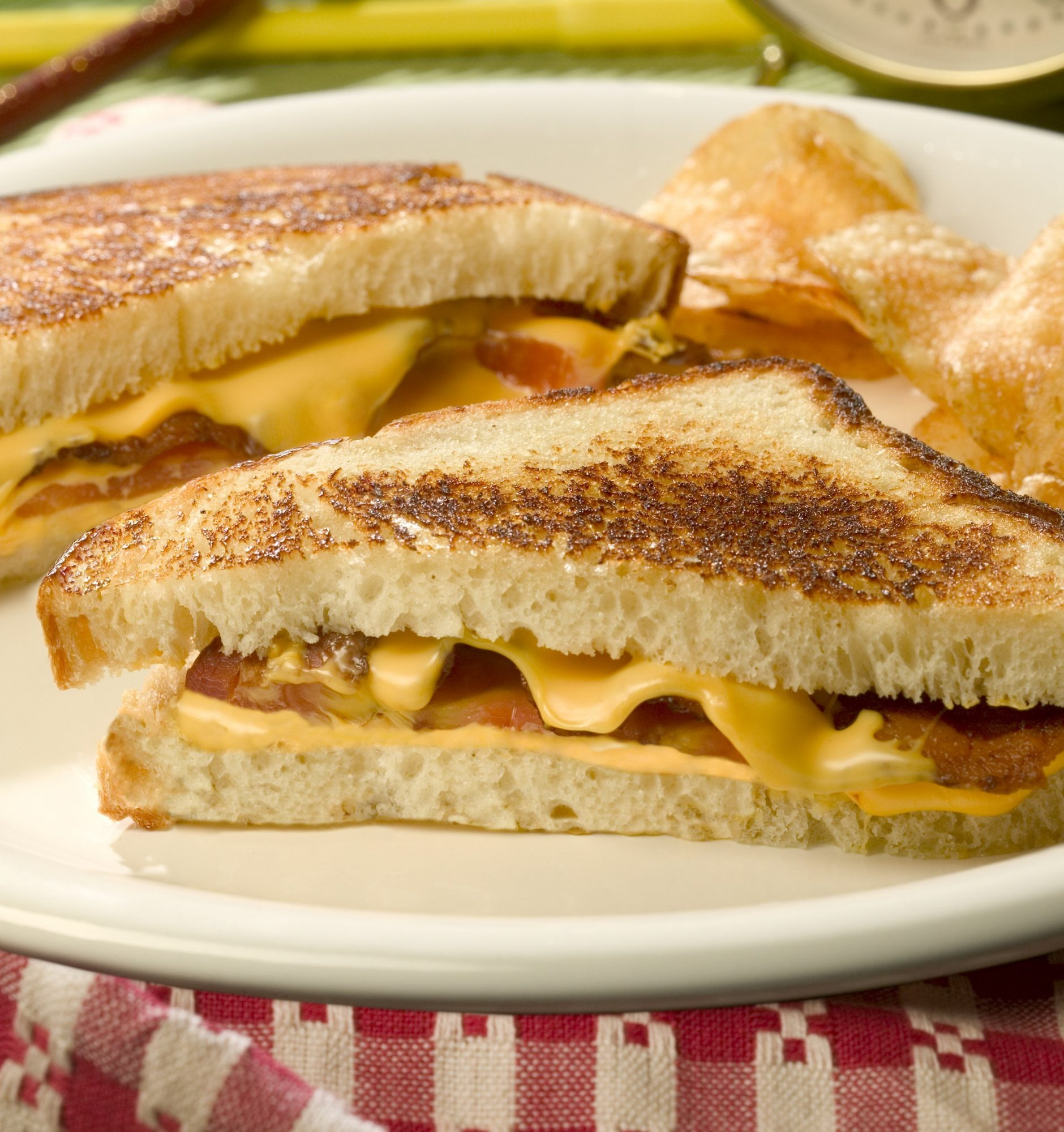 Bacon, Tomato Grilled Cheese