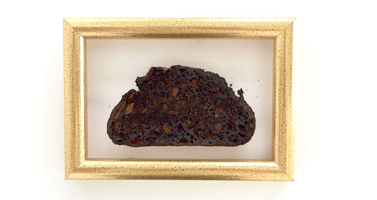 Burnt Toast in Picture Frame