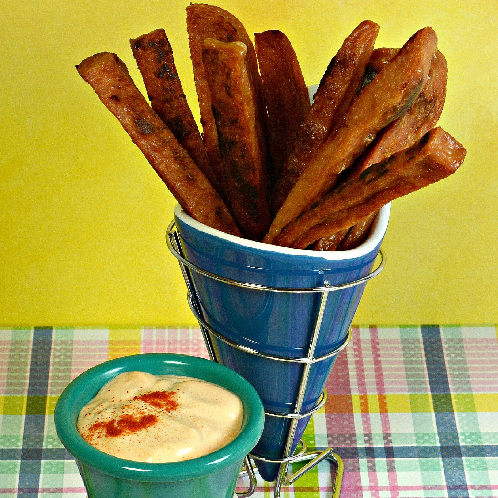 SPAM Fries with Spicy Garlic Sriracha Dipping Sauce