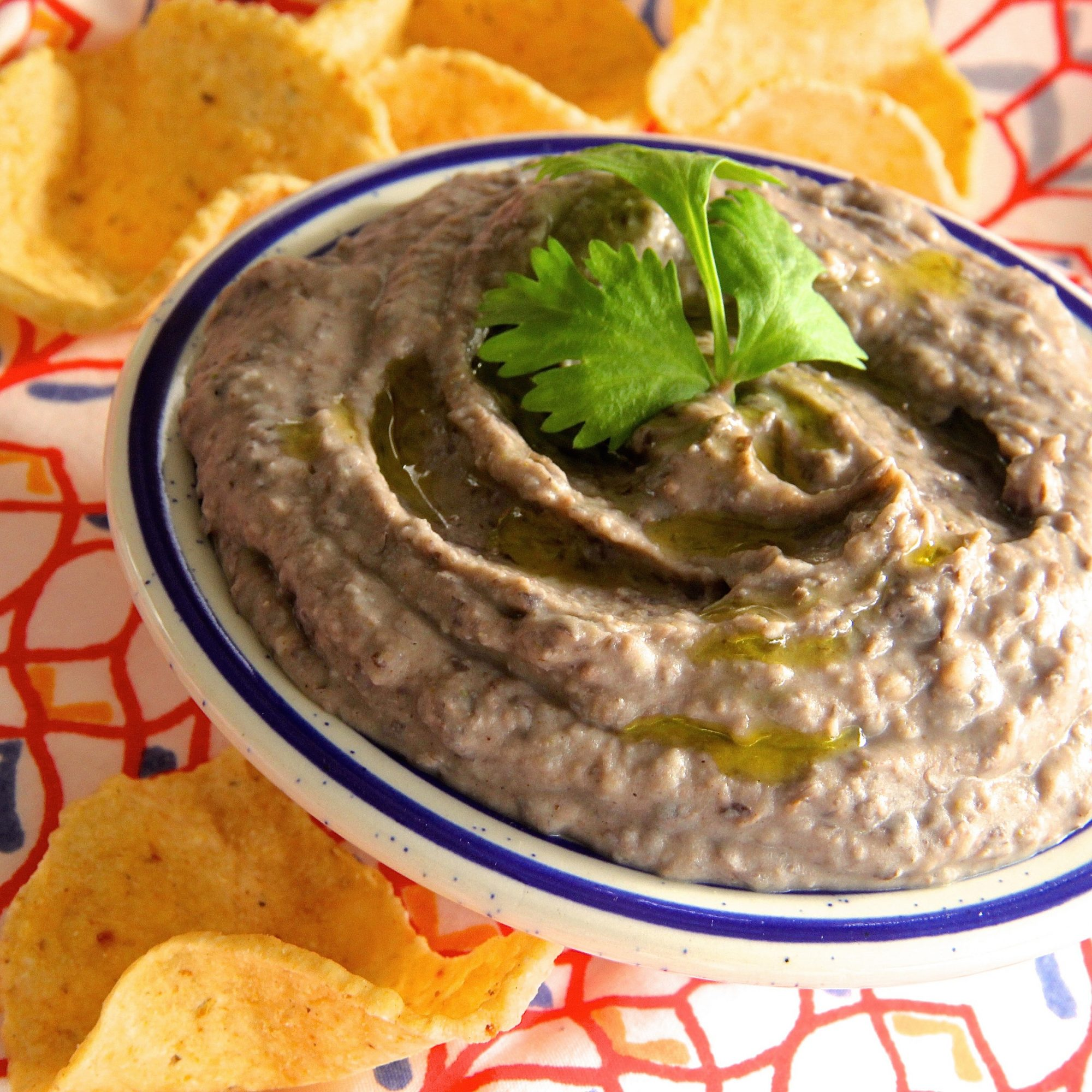 Quick Black Bean Hummus