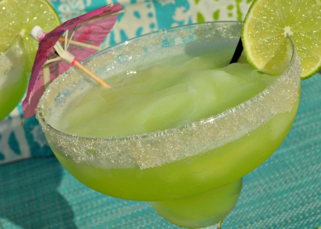 Frozen Melon Margaritas