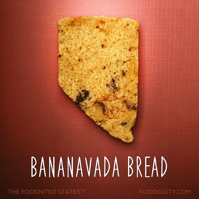 Bananavada Bread via Foodiggity
