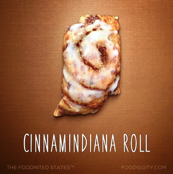 Cinnamindiana Roll via Foodiggity