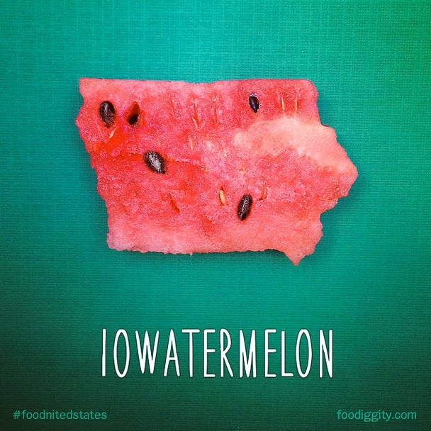 Iowatermelon via Foodiggity