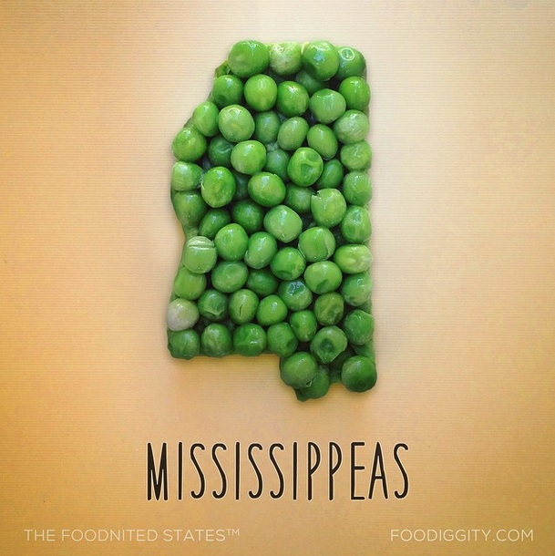 Mississippeas via Foodiggity