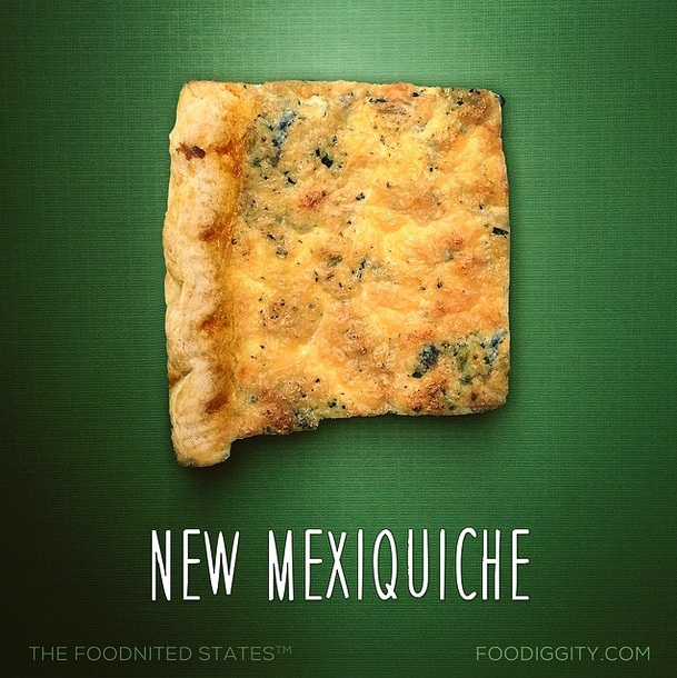 New Mexiquiche via Foodiggity